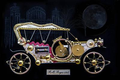 Rolls Royce 1910 Creative Art Original by Ronel Broderick