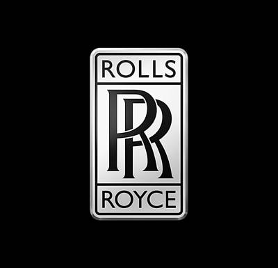 Digital Art - Rolls Royce by Ericamaxine Price