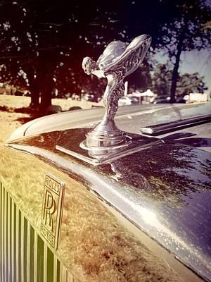 Photograph - Rolls Royce by Kelly Hazel