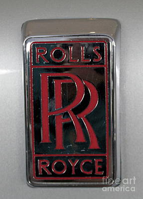 Photograph - Rolls Royce by Pamela Walrath