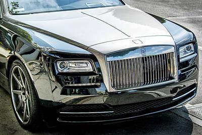 Photograph - Rolls Royce Phantom 2016 by Gene Parks