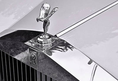 Photograph - Rolls Royce Spirit Of Ecstasy by Allen Beatty