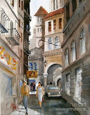 Painting - Roma 01 by Gerald Miraldi