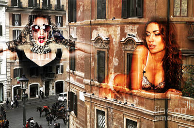 Photograph - Roma Beauty by John Rizzuto