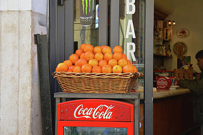 Photograph - Roma Breakfast Stop by JAMART Photography
