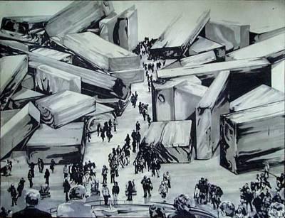 Drawing - Roma by Kaley LaRose