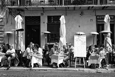 Photograph - Roma Lunch 2015 by John Rizzuto