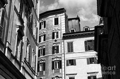 Roma Shadows 2015 Art Print by John Rizzuto