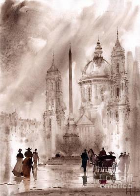 Roma Painting - Roma by Svetlana and Sabir Gadghievs