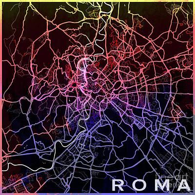 Roma Watercolor Art Print