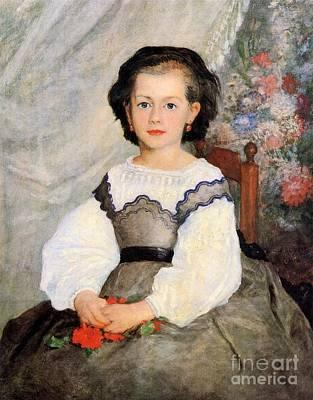 Romaine Painting - Romaine Lascaux by Renoir