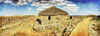 Photograph - Roman And Celtic Houses In Numantia by Weston Westmoreland