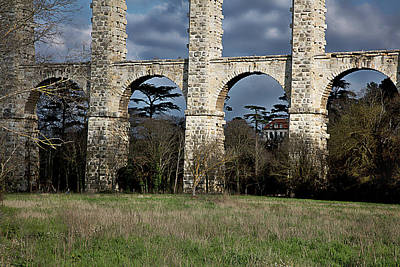 Photograph - Roman Aquaduct by Hugh Smith
