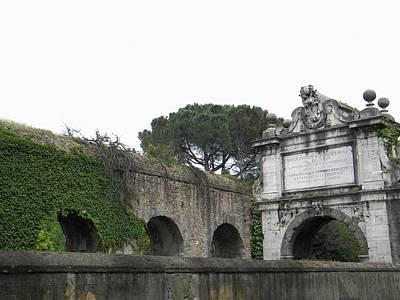 Art Print featuring the photograph Roman Aqueduct by Manuela Constantin
