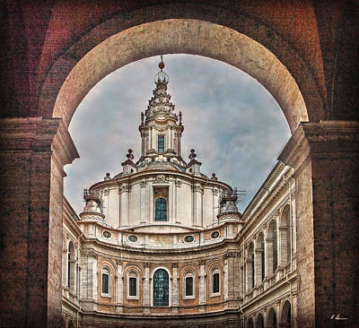 Photograph - Roman Baroque Architecture by Hanny Heim