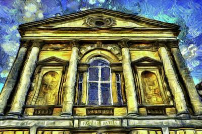 Impressionism Photos - Roman Bath Van Gogh by David Pyatt