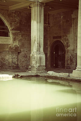 Photograph - Roman Baths In Bath, England by Patricia Hofmeester
