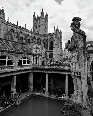 Photograph - Roman Baths by Matt MacMillan