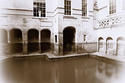 Photograph - Roman Baths by Michael Hope