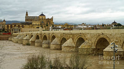 Photograph - Roman Bridge Cordoba Spain by Pablo Avanzini