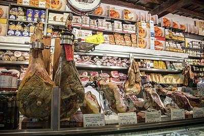 Photograph - Roman Butcher Shop  by John McGraw