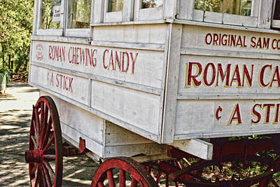 Roman Candy Cart Photograph - Roman Chewing Candy - Surreal by Scott Pellegrin