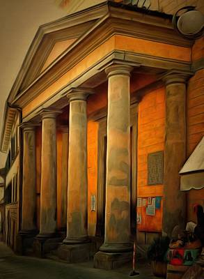 Photograph - Church Of Santa Maria Maddalena by Dorothy Berry-Lound