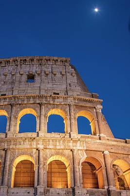 Photograph - Roman Coliseum Corner  by John McGraw