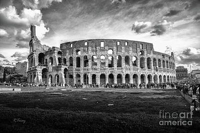 Photograph - Roman Coloseum Rome by Rene Triay Photography