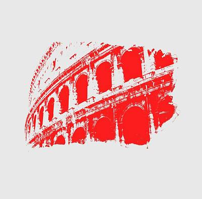 Painting - Roman Colosseum View by Andrea Mazzocchetti