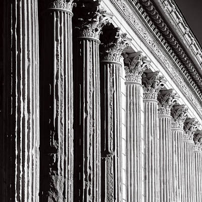 All You Need Is Love - Roman Columns 2b by Andrew Fare