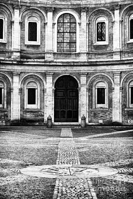 Courtyard Gallery Photograph - Roman Courtyard by John Rizzuto