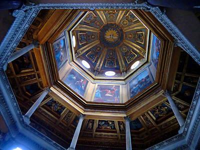 Baptism Digital Art - Roman Dome by Mindy Newman
