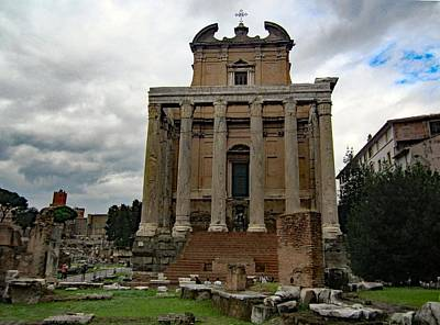 Buildings Photograph - Roman Early Christian Church by Bill and Deb Hayes