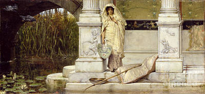 Painting - Roman Fisher Girl by Sir Lawrence Alma-Tadema
