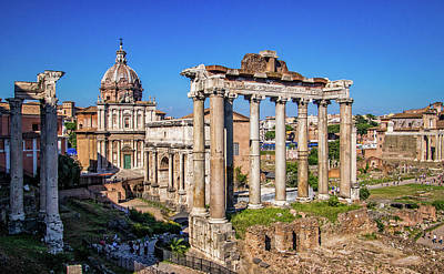 Photograph - Roman Forum by Carolyn Derstine