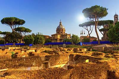 Photograph - Roman Forum, Roma, Italy by Elenarts - Elena Duvernay photo