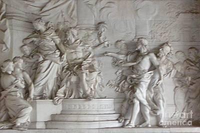 Painting - Roman Frieze by Mary Erbert