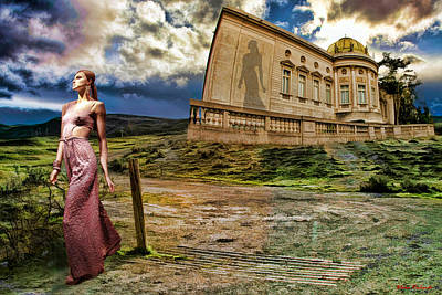 Roman Goddess Print by Blake Richards