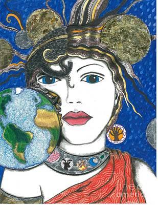 Roman Goddess Terra Mater Art Print