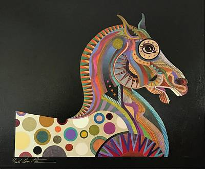 Painting - Roman Horse by Bob Coonts