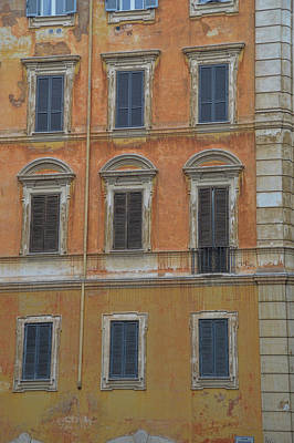 Photograph - Roman Housing by JAMART Photography