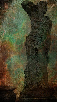 Photograph - Roman Hunter Statue by Lesa Fine