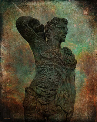 Photograph - Roman Hunter Statue Torso Right by Lesa Fine