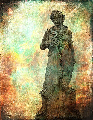 Photograph - Roman Hunters Wife And Dog by Lesa Fine