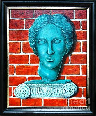 Mauer Painting - Roman Lady by Marcin Stec