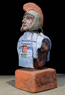 Roman Legionaire - Warrior - Ancient Rome - Roemer - Romeinen - Antichi Romani - Romains - Romarere Art Print by Urft Valley Art