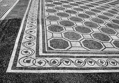 Photograph - Roman Mosaic - Ruins Of Empuries by Nikolyn McDonald