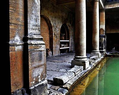 Briton Digital Art - Roman Pillars  by Vicki Lea Eggen
