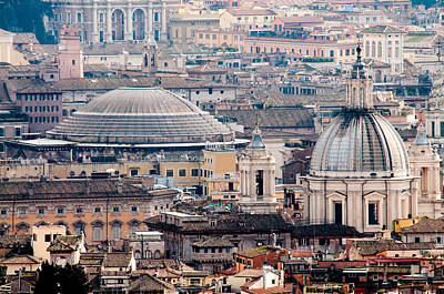 Rooftops Photograph - Roman Rooftops by Andy Smy
